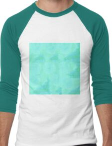 Blue Serenity Men's Baseball ¾ T-Shirt