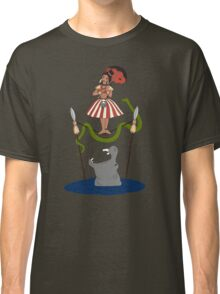 Jungle Cruise vs. Haunted Mansion Classic T-Shirt