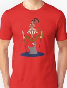 Jungle Cruise vs. Haunted Mansion Unisex T-Shirt