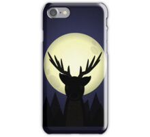 Peekaboo Deer in Its Natural Habitat iPhone Case/Skin
