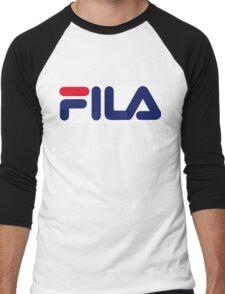 FILA Sport Logo Men's Baseball ¾ T-Shirt