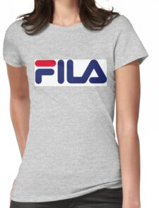 FILA Sport Logo Womens Fitted T-Shirt