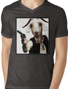 Mr Sunday / Goat Han Solo Mens V-Neck T-Shirt