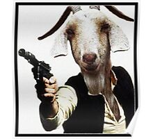 Mr Sunday / Goat Han Solo Poster