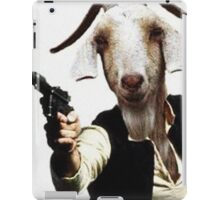 Mr Sunday / Goat Han Solo iPad Case/Skin