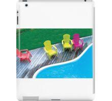 four chairs iPad Case/Skin