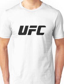 UFC Large Logo Black / White Unisex T-Shirt