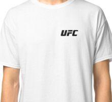 UFC Small Logo Black / White Classic T-Shirt