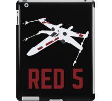 Red 5 iPad Case/Skin