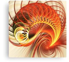 Heart Wave Canvas Print