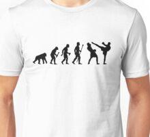 Kickboxing Evolution Of Man Unisex T-Shirt