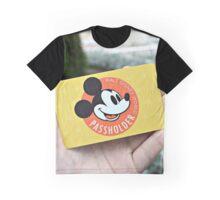 Disney Annual Passholder Card Graphic T-Shirt