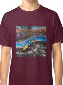 Storm Brewing spray-art painting on canvas Classic T-Shirt