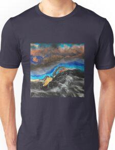 Storm Brewing spray-art painting on canvas Unisex T-Shirt