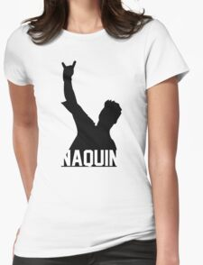 Tyler Naquin Silhouette Womens Fitted T-Shirt
