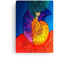Nautilus Muse Canvas Print