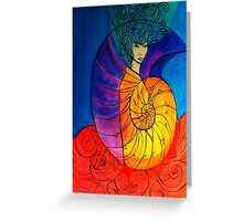 Nautilus Muse Greeting Card