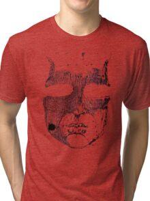 Face ink Sketch Tri-blend T-Shirt