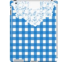 Country Lace - Blueberry iPad Case/Skin