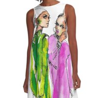 Swinging Sixties A-Line Dress