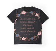 Come With Me, Peter Pan Graphic T-Shirt