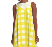 Country Lace - Lemonade A-Line Dress