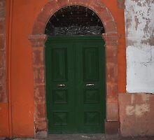 an old door by Yannis-Tsif