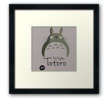 My Neighbor Totoro Framed Print