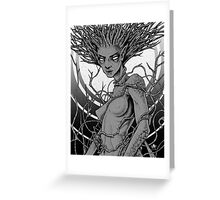 Creek Witch Greeting Card
