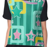 Creative design for children and teenagers. School. Chiffon Top