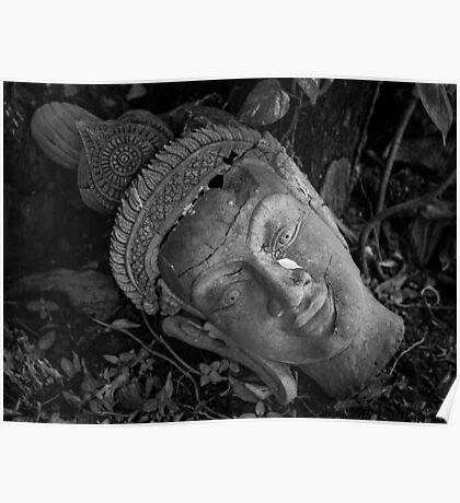 Buddha Tear Poster
