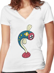 Eelektrik Women's Fitted V-Neck T-Shirt