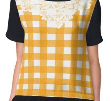 Country Lace - Sunset Chiffon Top