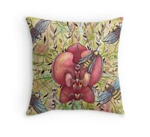 busy summer  Throw Pillow