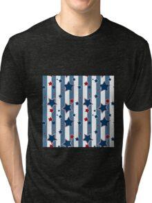 All Of The Stars. Patriotic. design. Tri-blend T-Shirt