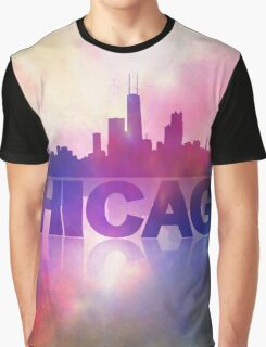 Chicago city skyline Graphic T-Shirt