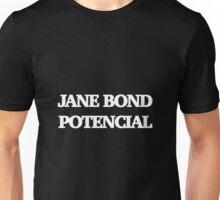 Gillian Anderson as James Bond Series Unisex T-Shirt