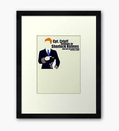 best disguise yet Framed Print