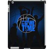 It's Game Time - Blue iPad Case/Skin