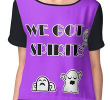 We Got Spirits Chiffon Top