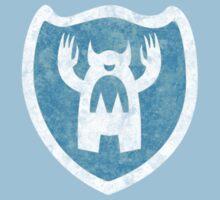monster logo -washed- Kids Clothes