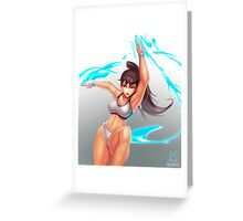 Chun-Li Sparring Outfit (SFV) Greeting Card