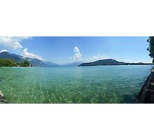 Lake Annecy from the West Side Photographic Print