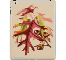 Acorns and Autumn Leaves iPad Case/Skin