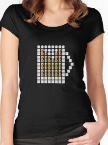 Emoji Beer! Women's Fitted Scoop T-Shirt