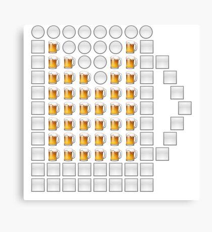 Emoji Beer! Canvas Print