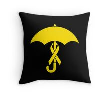 Umbrella Revolution 2014 Yellow Ribbon Movement Throw Pillow