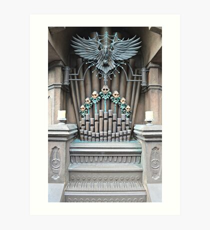 Haunted Mansion Organ Art Print