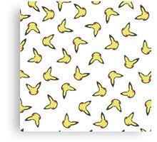 Pikachu - Jumbled Canvas Print