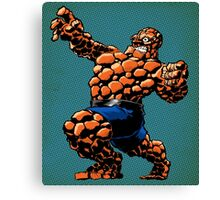 It's Clobbering Time! Canvas Print